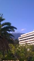 Hotellets utsikt åt andra hållet, Teide!