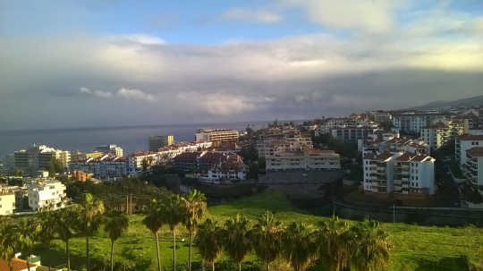 Utsikt från hotellet, inte illa!